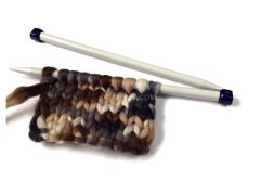 Metallic knitting needles for number №15, 1 set