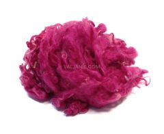 Wool Locks Wensleydale for texture Fuchsia, 10 gram