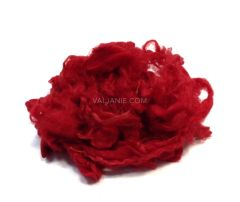 Wool Locks Wensleydale for texture Red, 10 gram